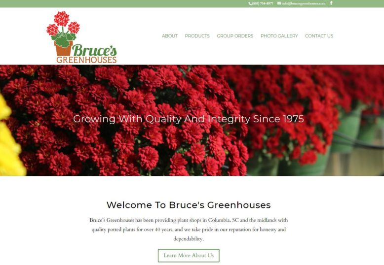 Bruce's Greenhouses